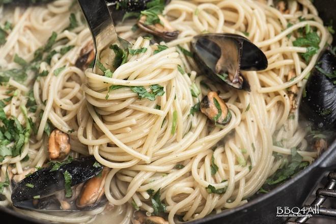 spaghetti risottati alla tarantina