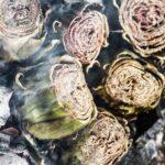 Come si fa: i carciofi nella cenere