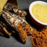 Briscola di sardine grigliate