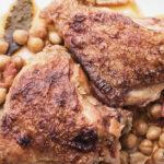Stufato di pollo e ceci