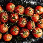 Pomodorini arrostiti al fuoco