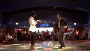 La scena del ballo di Vincent e Mia in Pulp Fiction