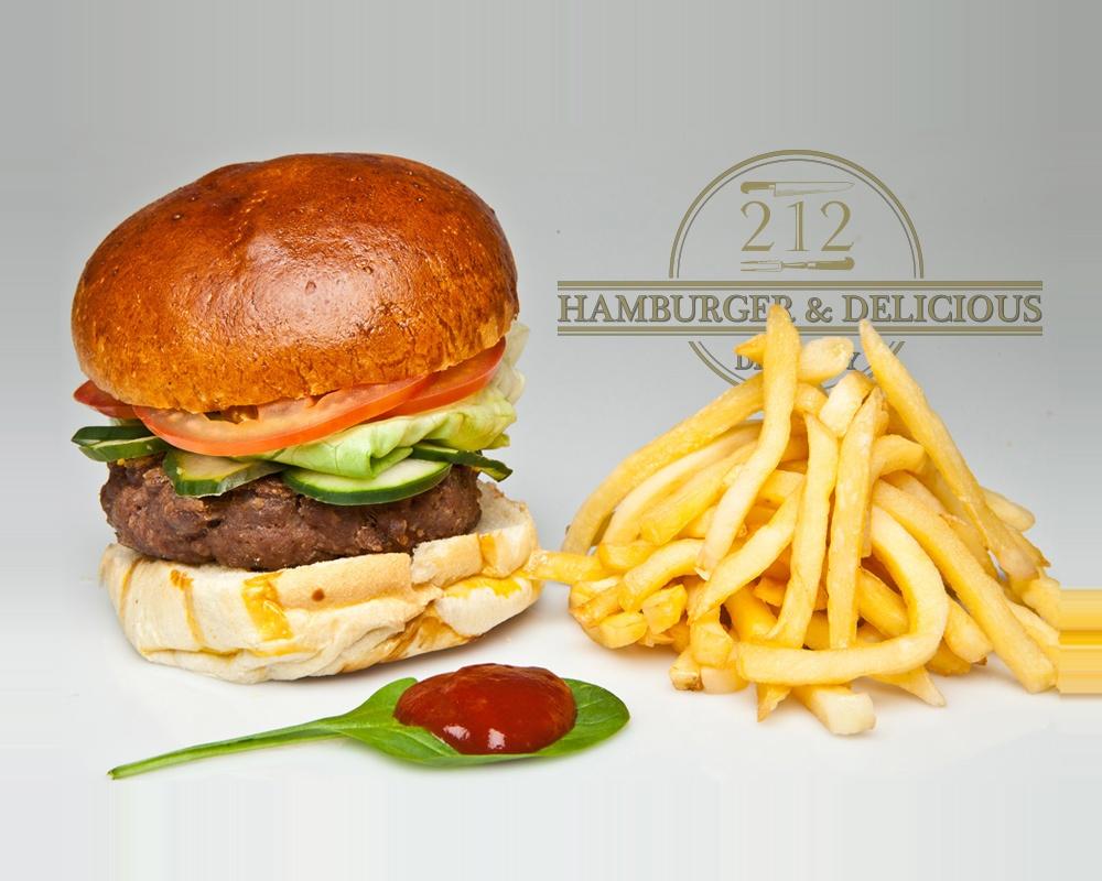 Hamerica's Classic Burger