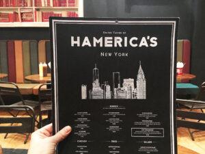 Hamerica's New York Menu