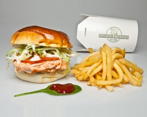 212 Salmon Burger