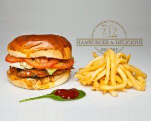 212 Veggie Burger