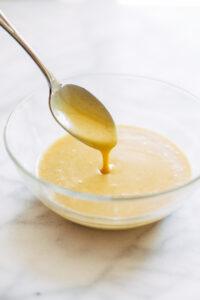 Salsa speziata con maionese e senape