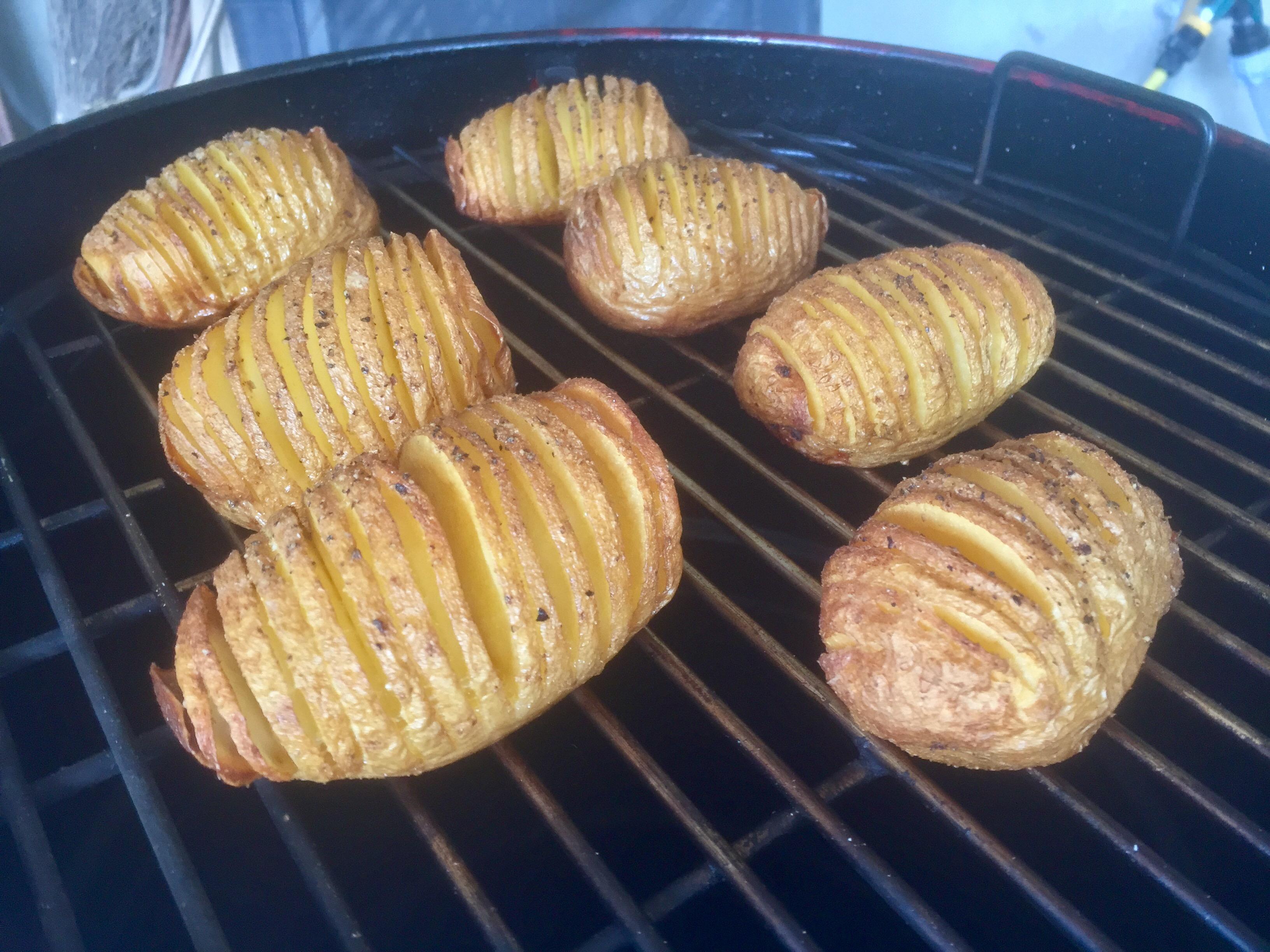 Hasselback Potatoes con il Fornetto Razzo