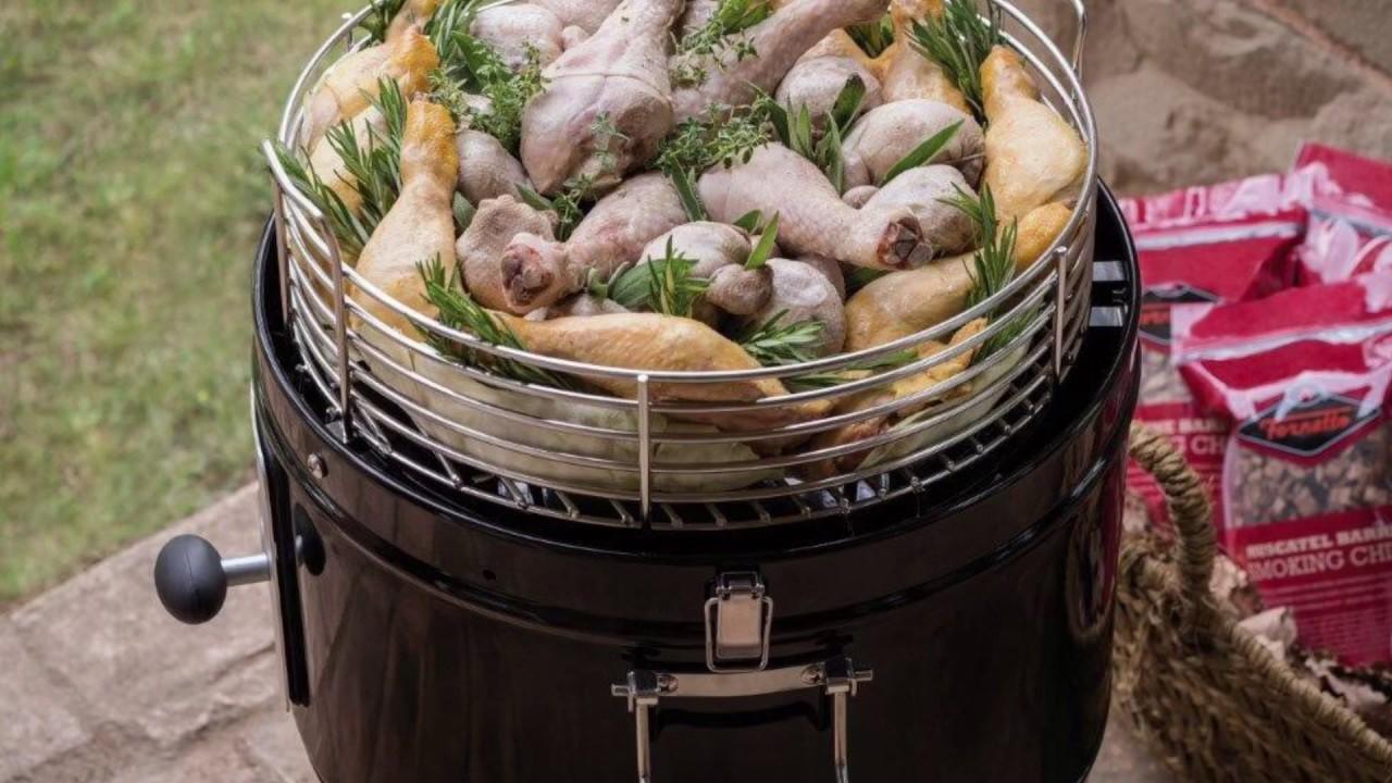 Il cesto del fornetto carico di carne