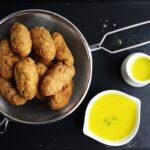 Polpette di cavolfiore affumicato e patate