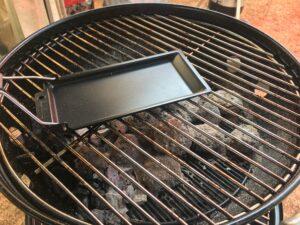 Barbeclette in riscaldamento